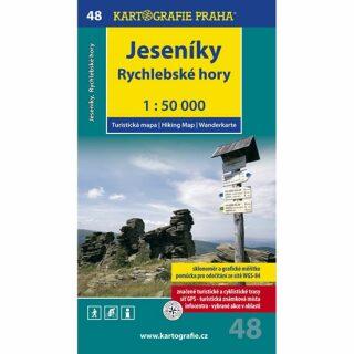 1: 50T (48)-Jeseníky,Rychlebské hory (turistická mapa)