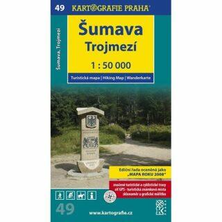 1: 50T (49)-Šumava-Trojmezí (turistická mapa)