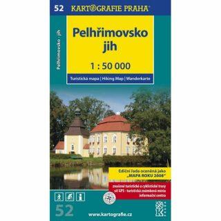 1: 50T (52)- Pelhřimovsko jih (turistická mapa)