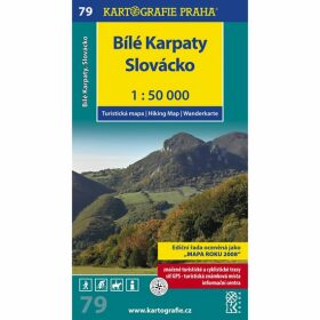 1: 50T (79)-Bílé Karpaty (turistická mapa)