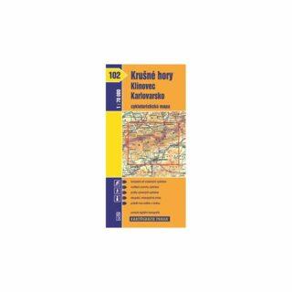 1: 70T(102)-Krušné hory, Klínovec, Karlovarsko (cykloturistická mapa)