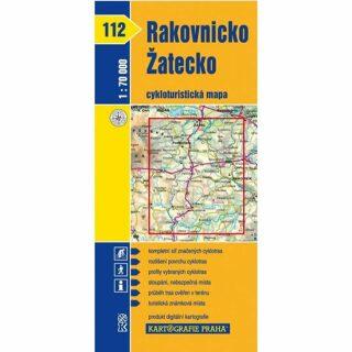 1: 70T(112)-Rakovnicko, Žatecko (cyklomapa)