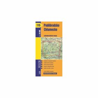 1: 70T(115)-Poděbradsko,Chlumecko (cyklomapa)