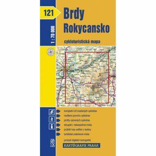 1: 70T(121)-Brdy, Rokycansko (cyklomapa)