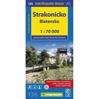 1: 70T(136)-Strakonicko,Blatensko (cyklomapa)