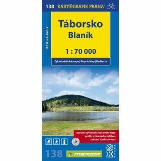 1: 70T(138)-Táborsko, Blaník (cyklomapa)
