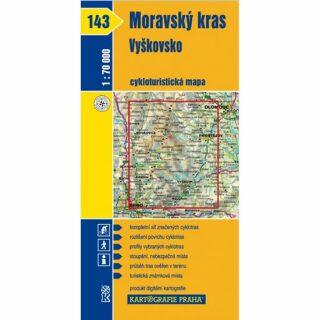 1: 70T(143)-Moravský kras,Vyškovsko (cyklomapa)