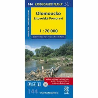 1: 70T(144)-Olomoucko,Litovelské Pomoraví (cyklomapa)