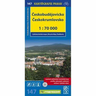 1: 70T(147)-Českobudějovicko (cyklomapa)