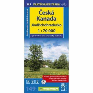 1: 70T(149)-Jindřichohradecko,Česká Kanada (cyklomapa)
