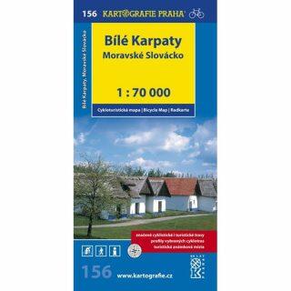 1: 70T(156)-Bílé Karpaty,Moravské Slovácko (cyklomapa)