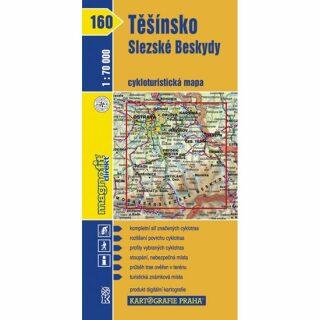 1: 70T(160)-Těšínsko, Slezské Beskydy (cyklomapa)
