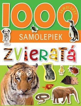 1000 samolepiek Zvieratá -