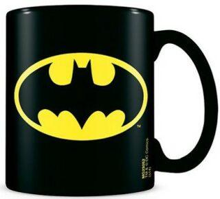 MagicBox CurePink Keramický hrnek DC Comics Batman Logo MG23052 315 ml