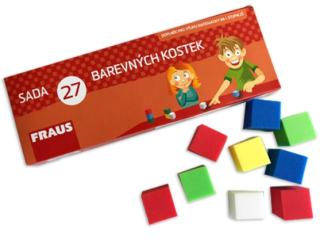 Barevné plastové kostky – sada pro žáka