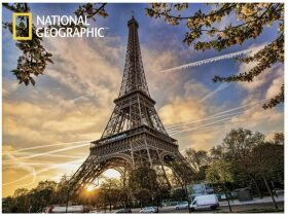 3D PLAKÁT-Paříž Eiffelova Věž