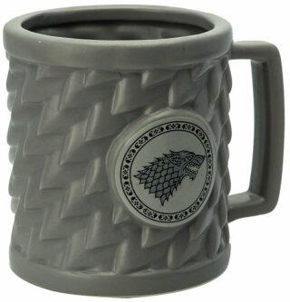 Hrnek Game of Thrones - Stark 3D 500 ml