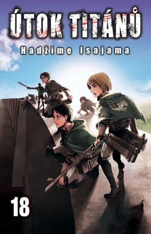 Útok titánů 18 - Hadžime Isajama