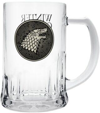 Půllitr Game of Thrones - Stark 2