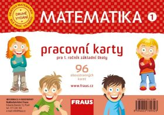 Matematika 1 pracovní karty pro 1. ročník základní školy - Jitka Michnová, Eva Bomerová