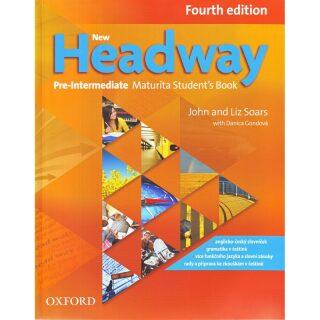 New Headway Fourth Edition Pre-intermediate Maturita Student's Book (Czech Ed.) - John and Liz Soars