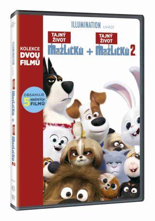Tajný život mazlíčků kolekce 1.+2. - DVD
