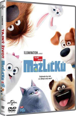 Tajný život mazlíčků - DVD