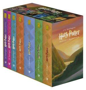 Harry Potter 1-7 - dárkový box (komplet) - Joanne K. Rowlingová