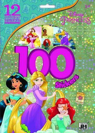 100 samolepek Princezny - kolektiv autorů
