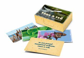 Tady a teď/Život je zlatá příležitost - karty - Sri Chinmoy