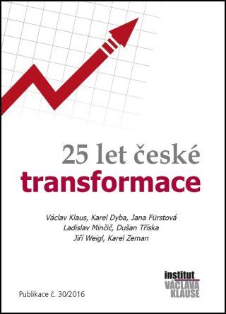 25 let české transformace - autorů kolektiv