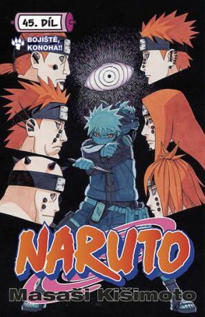 Naruto 45: Bitevní pole Konoha - Masaši Kišimoto