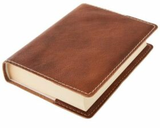 Obal na knihu KLASIK M - 22,7 x 36,3 cm, Barva kůže: Měděná (K63)