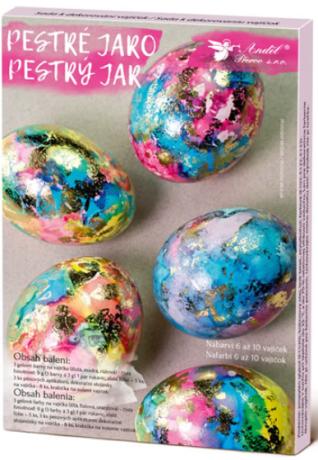 Sada k dekorování vajíček - pestré jaro - neuveden
