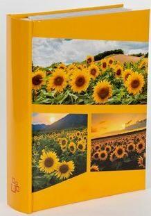 Fotoalbum pro 200 foto 10x15-Blanca oranžové