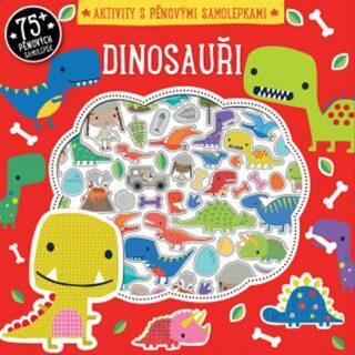 Dinosauři - aktivity s pěnovými samolepkami