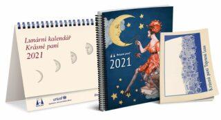 Lunární kalendář Krásné paní s publikací 2021 - Žofie Kanyzová
