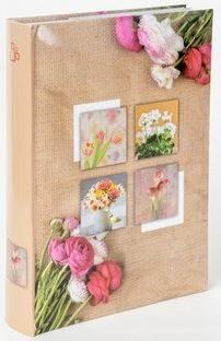 Fotoalbum 300 10x15 Bouquet hnědé