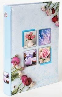 Fotoalbum 300 10x15 Bouquet modré