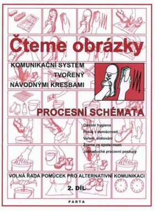 Čteme obrázky -  komunikační systém tvořený návodnými kresbami - procesními schématy 2.díl - Krista Hemzáčková