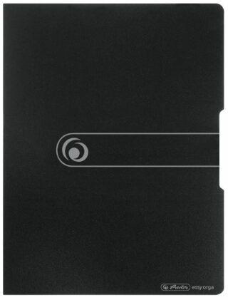 Prezentační desky A4 s 20 obaly, černé