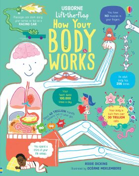 Lift-the-Flap How Your Body Works - Rosie Dickinsová