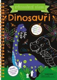 Vyškrabávací zábava Dinosauři - neuveden