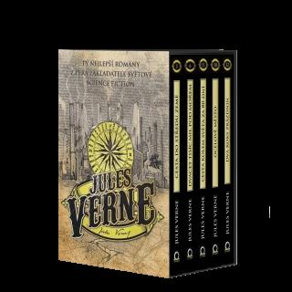 Jules Verne - BOX 5 knih - Jules Verne