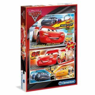 Puzzle Supercolor Cars/2x60 dílků