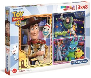 Puzzle Supercolor Toy Story 4/3x48 dílků