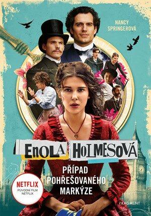 Enola Holmesová – Případ pohřešovaného markýze - Springerová Nancy