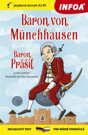 Zrcadlová četba-N- Baron von Münchhausen, Baron Prášil - Raspe Rudolf Erich