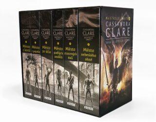 Nástroje smrti 1-6: Sága o lovcích stínů - dárkový box (komplet) - Cassandra Clare