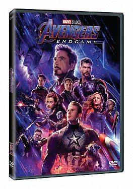 Avengers: Endgame DVD - Edice Marvel 10 let - DVD